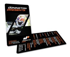 Donington Park Race Course - Card