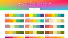 Handy Colors | Color Palettes | Web Design
