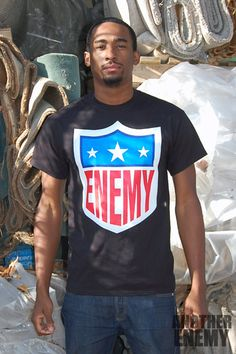 EFL Logo T Shirt in Black - www.AnotherEnemy.com - Another Enemy