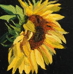 Flower of the Sun, original painting by artist Suzanne Berry | DailyPainters.com