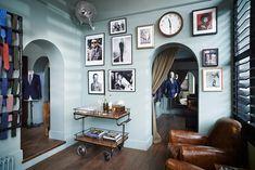 New Home Office For Men Wall Colors Living Rooms Ideas Brick Studio, Masculine Room, London Brick, Home Office Storage, Diy Interior, Interior Colors, Interior Designing, Apartment Interior, European Home Decor