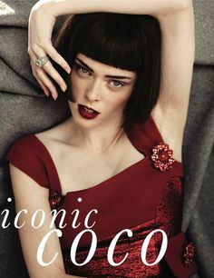 Coco Rocha in ELLE Korea, September 2012