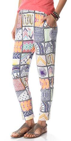 Mara Hoffman Quilts Slouch Pants | SHOPBOP