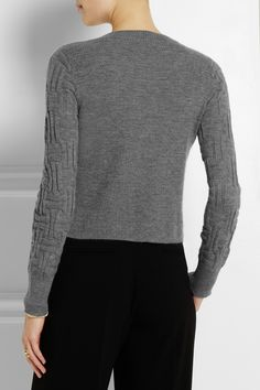Maiyet|Wrap-effect cashmere sweater|NET-A-PORTER.COM