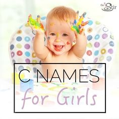 25 charming 'C' names for little ladies!
