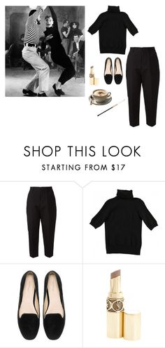 """audrey hepburn"" by indiesarah ❤ liked on Polyvore featuring Arts & Science, Yves Saint Laurent and vintage"