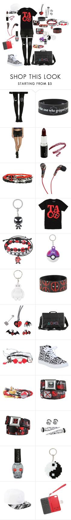 """""""#9"""" by loa-chan ❤ liked on Polyvore featuring Marvel, Nintendo, Disney and Folio"""