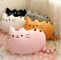 7 colors 40*30 cm plush toy stuffed animal doll, anime toy pusheen cat pusheen skin girl kid kawaii,cute cushion brinquedos Kids - Fun Store Online