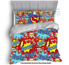 boys superhero bedding kids bedding kids bedroom comic book bedding superhero comforter boys bedding superhero bedroom decor boys room decor