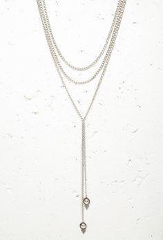 Etched Pendant Drop Necklace #accessorize