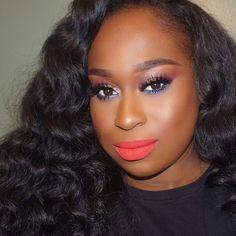 Glam Makeup, Makeup Inspo, Makeup Art, Makeup Inspiration, Eye Makeup, Red Lipstick Looks, Eyeshadow Looks, Makeup Blog, Makeup Tips
