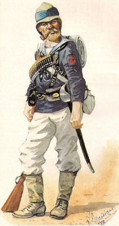 Leading Seaman of the Naval Brigade during the Gordon Relief Expedition, Sudan, 1885