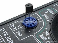 Insert the Transistor for Testing