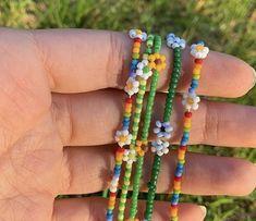 Cute Jewelry, Diy Jewelry, Beaded Jewelry, Jewelery, Jewelry Accessories, Handmade Jewelry, Beaded Bracelets, Ankle Bracelets, Accesorios Casual
