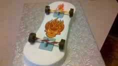 My first Skateboard Cake.