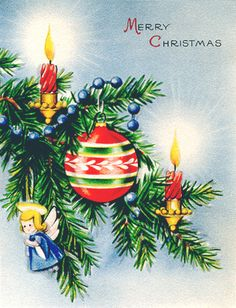 Susie's Christmas Cottage: Building a Better Christmas - Organizing and Shopping Expectations Christmas Tree Cards, Old Christmas, Old Fashioned Christmas, Christmas Scenes, Christmas Candles, Very Merry Christmas, Vintage Christmas Cards, Vintage Holiday, Christmas Pictures