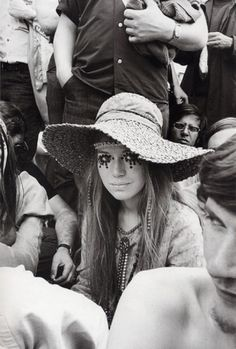 Il make up hippy anni '70  love this photo