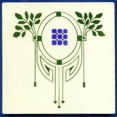 Motifs Art Nouveau, Azulejos Art Nouveau, Motif Art Deco, Art Nouveau Pattern, Art Nouveau Tiles, Art Nouveau Design, Nouveau Tattoo, Jugendstil Design, Inspiration Art