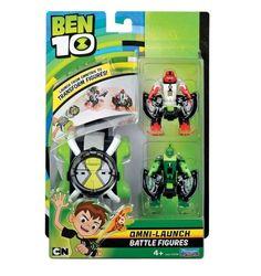 Epee Ben10 - Omnitrix Omni Transform + figurki Four Arms i Wildvine 76792 Four Arms + Wildvine | Znane z bajek i filmów Produkty \ Figurki i zestawy \ Postacie z bajek