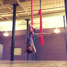 most women measure in inches, I measure in feet • as in, 16 gorgeous feet to the ceiling • in twirling heaven • #aerialyoga class at 5:30 tonight, 7 pm Thursday & noon Friday {this week} || #littlemissninja #aerialhammock #aerialsling #yeahthatgreenville #jointheMovement at @maya_movement_arts
