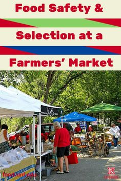 Food safety and selection tips when shopping at a farmers' market Nutrition And Dietetics, Health And Nutrition, Registered Dietitian Nutritionist, Food Safety, Healthy Eating Recipes, Nutrition Information, Farmers Market, Safe Food, Harvest