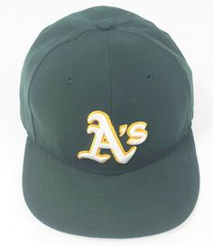 quality design d8007 c2cbf Oakland A s Athletics MLB Baseball Cap Green Hat Official On Field New Era  5950  Athletics  NewEra  BaseballCap