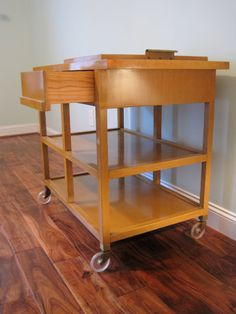 Rare Serving Cart by RobsjohnGibbings for by contentshome