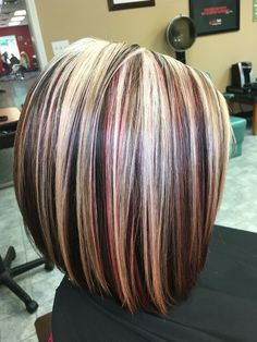Trendy Hair Highlights Picture Description Highlights ,blonde ,red,and brown hair by Victoria Sylvis eroticwadewisdom…. Love Hair, Great Hair, Gorgeous Hair, Gorgeous Blonde, Medium Hair Styles, Short Hair Styles, Hair Color Highlights, Chunky Highlights, Auburn Highlights