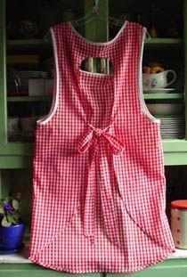 Old Fashioned Vintage style cobbler apron