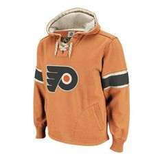 Philadelphia Flyers Retro Pullover Hoodie Size S by CCM. $69.00. The Retro Pullover Hoodie part of the Vintage CCM collection features: - 80% cotton, 20% polyester - Athletic fit with a classic wash - Felt & distressed twill applique with loose embroidery & edgestitch - Skate lace draw cords - Sleeves with self fabric inserts. Save 22% Off!