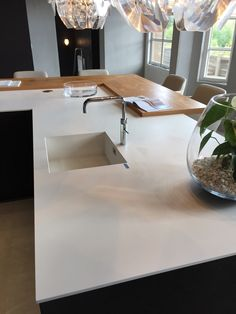 Neolith Nieve from Ideas Interiors Abingdon #Neolith