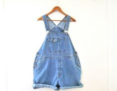 Plus Size Overall Women Overalls Denim Overall by TheVilleVintage, $47.99
