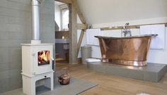 Save money on fuel bills with a wood burning stove | Homes & Property