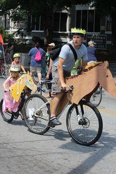 Atlanta Bike Parade (10 Friday Photos, +1 Since It's a Day Late) | PlanetSave