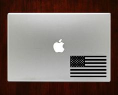 American Flag 50 Stars Patriotic Decals Stickers For Macbook 13 Pro Air Decal #RusticDecal