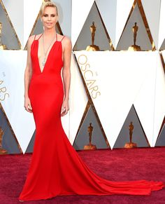 The Best Oscars Gowns of 2016 | People - Charlize Theron in Dior Haute Couture