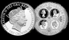 The Queens 90th Birthday Ten Crown Coin
