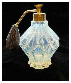 Sabino Perfume Atomizer Art Deco Opalescent Bottle France Paris Antique | eBay