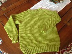 Sommertrøje, dejlig grøn farve.