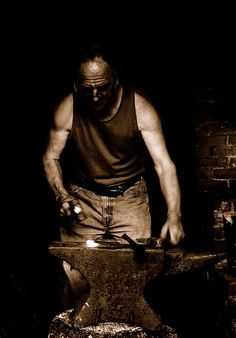 I always thought it would be cool to learn to blacksmith.