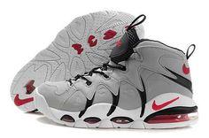 NBA Basketball Nike Air Max CB34 Gray Black - Charles Barkley Shoes 925b03b435fb