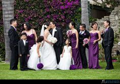 Bridal Party Pose ~ Compliments-julesbianchi.com #wedding #bridal #party #pose @WedFunApps wedfunapps.com ♥'s