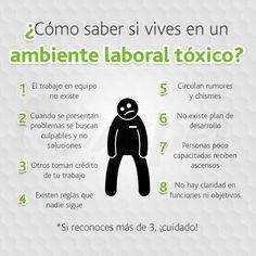 Como saber si vives en un ambiente laboral toxico?
