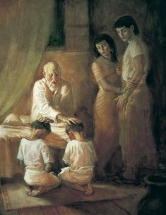 Jacob blesses Ephraim with the Birthright. The Book of Genesis tells that Ephraim was the 2nd son of Jospeh & Asenath and that Joseph was the 11th of Jacob's 12 sons and Rachel's firstborn,[2] and tells how Joseph came to be sold into slavery by his jealous brothers, and rose to become the second most powerful man in Egypt next to Pharaoh. When famine struck Canaan, Jacob (Joseph's father) and Joseph's brothers came to the Land of Goshen in Egypt. source: Wiki