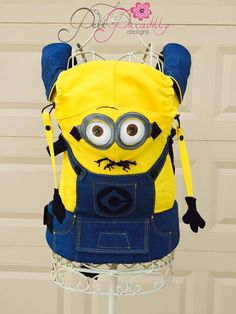 Minion (Customized by PETIT PICCADILLY) Tula Baby Carrier