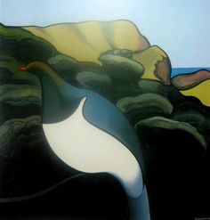 New Kereru at Te Henga, 1966 Pictures Images, Art Images, New Zealand Art, Nz Art, Australian Art, Wildlife Art, Sustainable Design, Art Auction, Interior Design Living Room