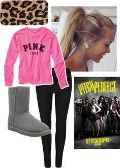 """Pitch perfect!"" by janehatesbugs ❤ liked on Polyvore"