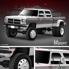 Yummy early Cummins Dodge Crewcab dually. Ive got a soft ...
