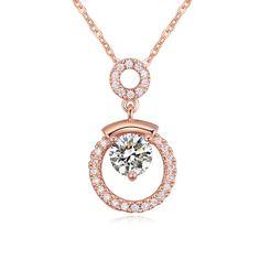 Ксв элемент Алмаз ювелирные изделия навсегда любовь сердца ожерелье девушки свитер дизайн