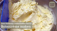 Botercrème maken met Cees Holtkamp